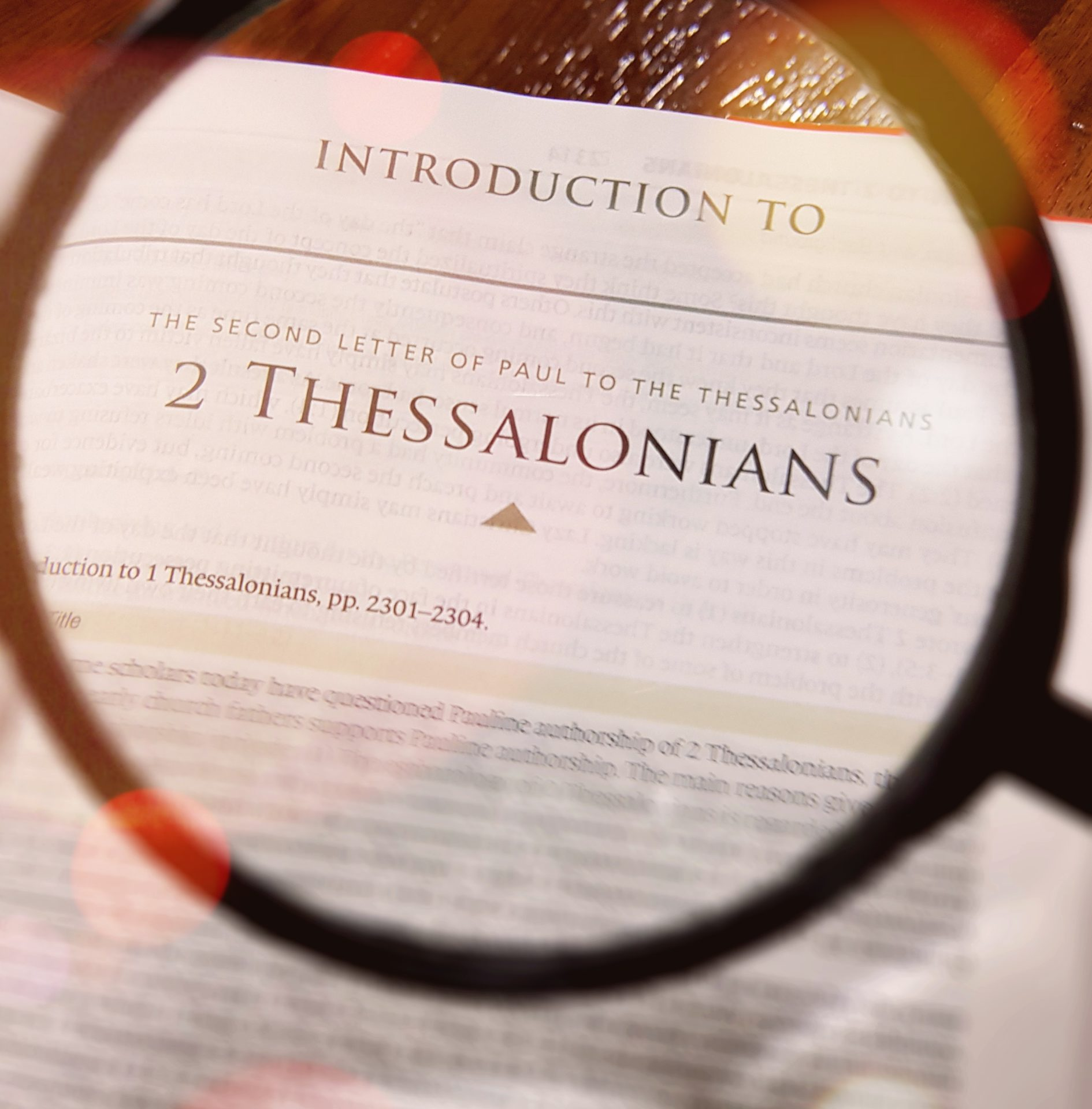 Introduction to 2 Thessalonians